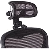 Headrest for Herman Miller Aeron Chair - H3 Standard Carbon by Engineered Now