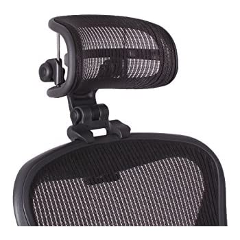 Engineered Now Headrest For Classic Herman Miller Aeron Chair   H3 Carbon  (COLORS MATCH CLASSIC