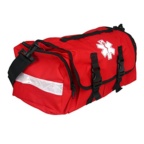 Dixigear First Responder On Call Trauma Bag W/Reflectors (Red)