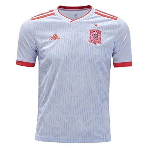 adidas Junior Spain Away Jersey '18-'19 (Halo Blue/Bright Red) Size: YXS ()