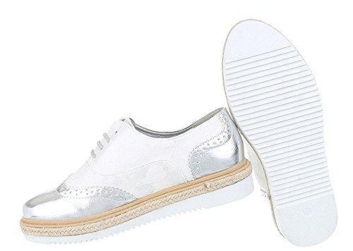 Damen Halbschuhe   Lack Metallic Brogues   Dandy Schuhe Wildlederoptik    Glitzer Bast Schuhe  Plateauschuhe ... efaaaaadb5