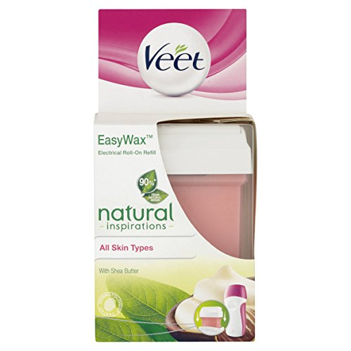 Veet Easy Wax Naturals Electrical Roll-On Refill - 50 ml by Veet