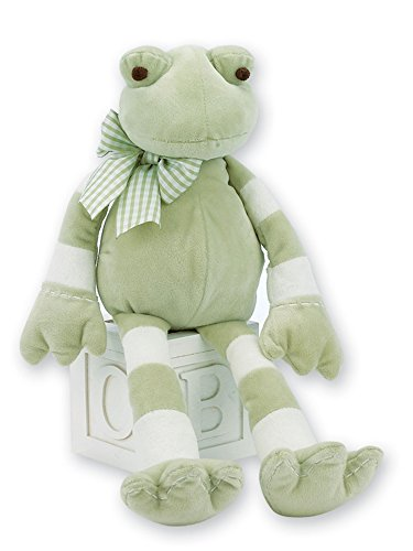 Bearington Baby Jumper Plush Stuffed Animal Frog 16
