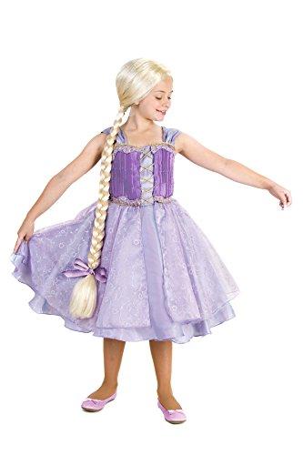Girls Lavender Princess Costumes (Princess Paradise Tower Princess Costume, Large)