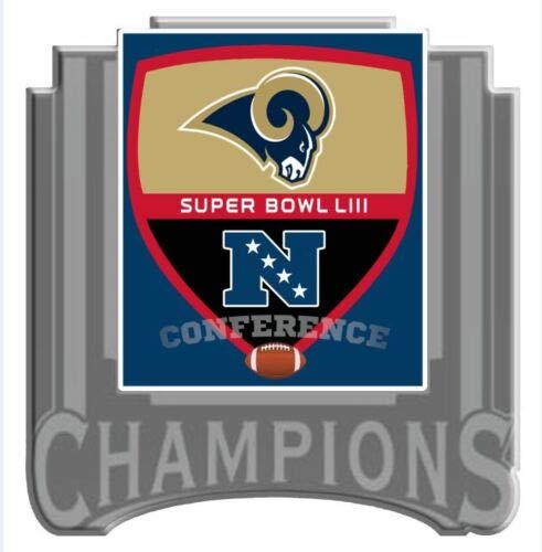 - Football 2019 RAMS NFC Conference Champions Super Bowl 53 PIN Superbowl LIII