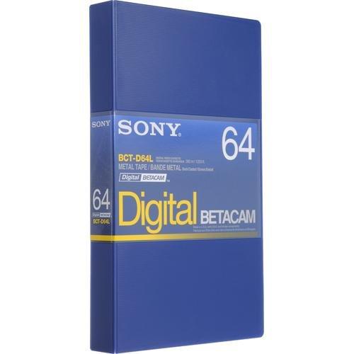 Sony BCT-D64L Digital Betacam 64 minute Tape (10 Pk) by Sony