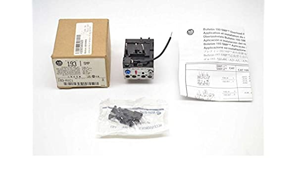 ALLEN BRADLEY 193-A1C1 (Obsolete), Overload Relay.32-1AMP, BI-Metallic, 600vac max .32-1AMP BI-Metallic: Electronic Motor Starters: Amazon.com: Industrial & ...