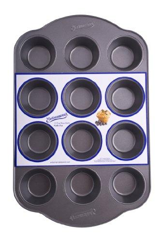 Entenmann's Bakeware Classic ENT19012 12-Cup Muffin/Cupcake Pan