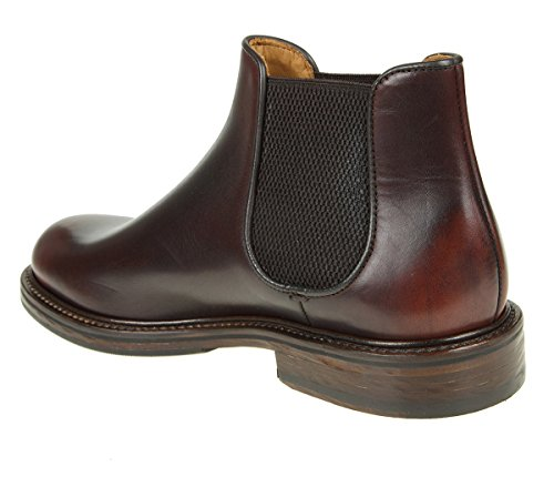 Uomo Pelle Marrone 1329BROWN DOUCAL'S Stivaletti 8q1vZZ