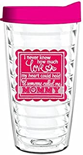product image for Smile Drinkware USA-I never knew how much love my heart could hold until someone called me Mommy 16oz Tumbler