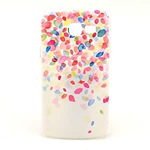 LZX Colorful Fragment Design Pattern Hard Case Cover for Samsung Galaxy Trend Lite S7390/S7392