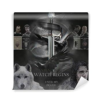 PIXERS Fototapete Game of Thrones (Vinyl-Fototapete 100 x ...
