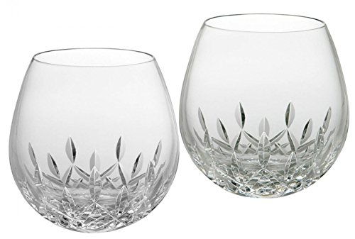 Waterford Lismore Nouveau Stemless Light Red Wine Pair (Waterford Holiday Giftware)