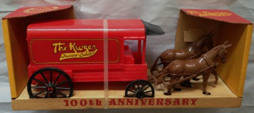 1983-the-kroger-grocery-baking-co-100th-anniversary-horse-carriage-set-mint-in-original-store-displa