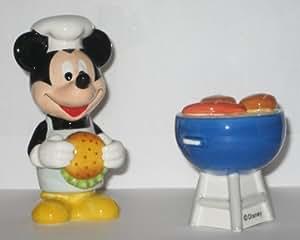 Mickey's Summertime Fun Salt & Pepper Set