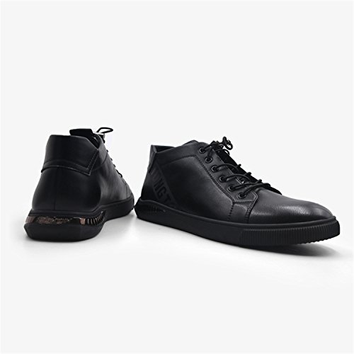 Rainstar Hommes Causal Lace Up Oxford Robe Chaussures Outdoor Sneaker Sport Chaussure Noir-1