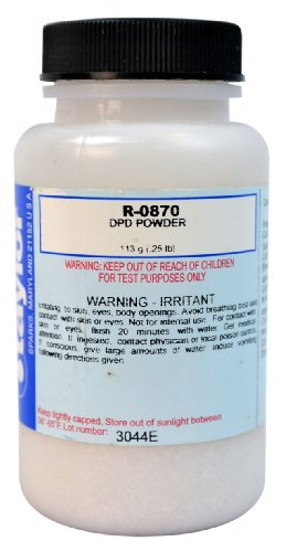 Taylor Dpd Powder - Taylor Replacement Reagent R-0870-J DPD Powder .25-Pound