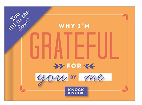Knock Knock 50257  Why I'm Grateful for You Fill in the Love (Love Notes Notebook)