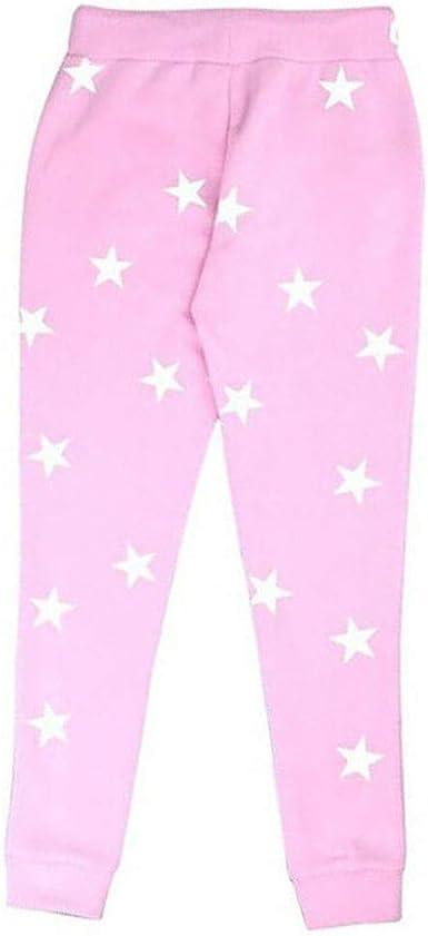 FELZ Moda Pantalones de Cordón con Estampado de Estrella para ...