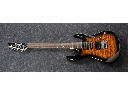 Ibanez GRX 6 String Solid-Body Electric Guitar Sunburst Right Full GRX70QASB