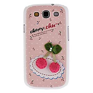 Cute Cherry Pattern Hard Case for Samsung Galaxy S3 I9300