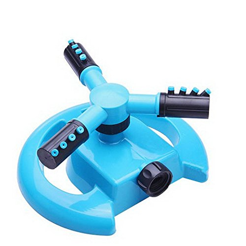 Wenyujh Lawn Sprinkler, Automatic 360 Rotating Adjustable Garden Sprinkler Garden Water Sprinkler Lawn Irrigation System