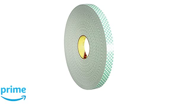 3M 4032 Cintas de Doble Cara de Espuma de Poliuretano, 12 mm x 66 m, 18 unidades: Amazon.es: Industria, empresas y ciencia