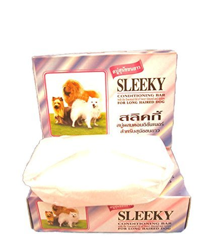 Sleeky-Conditioning-Bar-For-Long-Haired-Dog-265Oz75-g-BarSLEEKY-Conditioning-Bar-265-Oz75g-Bar-For-Short-Haired-Dog