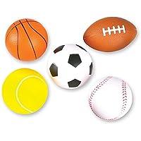 Neliblu 5 Soft Foam Sports Balls For Kids 3.5
