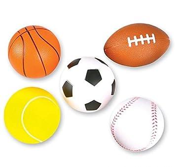 Amazon.com: Neliblu 5 pelotas de espuma suave para niños ...