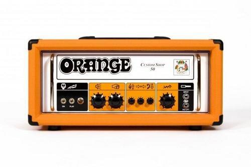 50w Tube Guitar Head (Orange Amplifiers CS50 Custom Shop 50W Tube Guitar Head Orange)