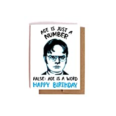 It is your birthday dwight schrute birthday card the office bday dwight schrute birthday card the office bday card bookmarktalkfo Gallery