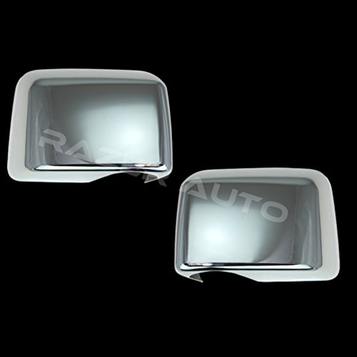 Razer Auto Chrome Mirror Cover Fit only on XL, STX or 04 Heritage for 04-08 Ford F150 ()