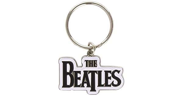 Amazon.com: Merch – La beatles-drop T Logo Llavero (Negro ...