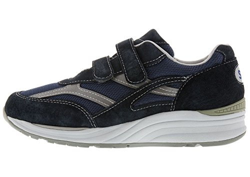 Sas Mens, Maglia Da Viaggio Slip On Walking Sneakers Blu Grigio 8 W