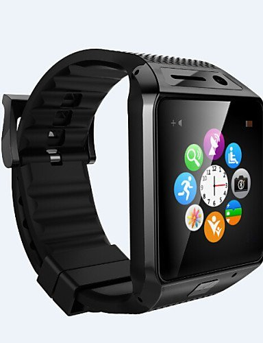 GV08S Wearables Smart Watch , Hands-Free Calls/Media Control/Message Control/Camera Control for Android&iOS , white