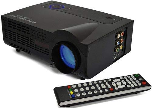 Favi FE-RIOHD-LED-G3 LCD Gaming Projector - Built-in Dual Speakers - 350 Lumens - 1800:1 - SVGA (800 x 600) - Black (Certified Refurbished)