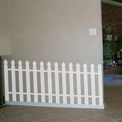 Large Picket Fence Wall Decal - 27