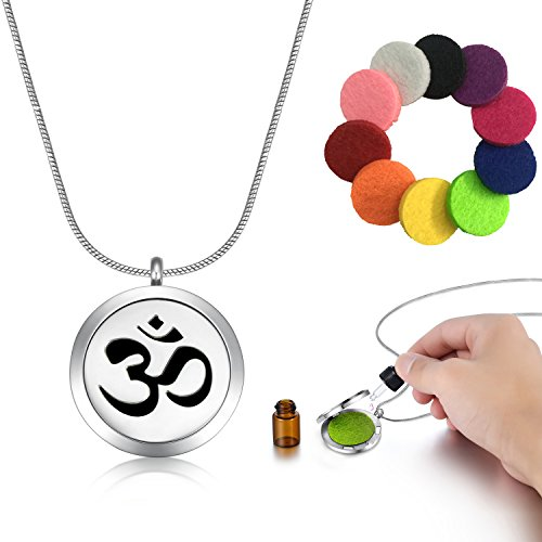 Necklace Aromatherapy Diffusing Essential Re usable