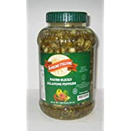Supremo Italiano: Sliced Jalapeno Peppers 1 Gallon