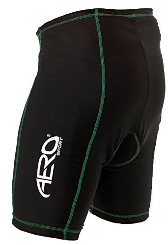 Peque para Amarillo hombre Shorts Aero Sport Coolmax Negro Alta visibilidad o zWqaSdxwaR