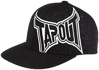 amazoncom tapout mens stamped 20 hatblacklargex