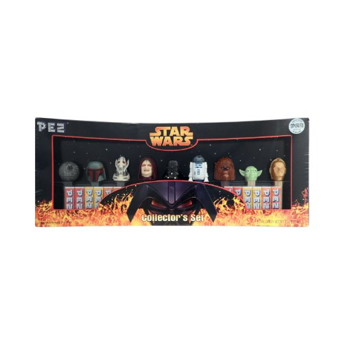 Star Wars Limited Edition PEZ Collector's Set with 9 Star Wars PEZ Dispensers -