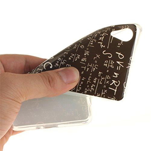 Couverture X equation En Antichoc Protection Transparent Arrière Slim Téléphone Sony Souple De Bord Cas Performance Scratch Xperia Cas Résistant Fit Peint Hozor Silicone Motif De TPU 4PqxEF
