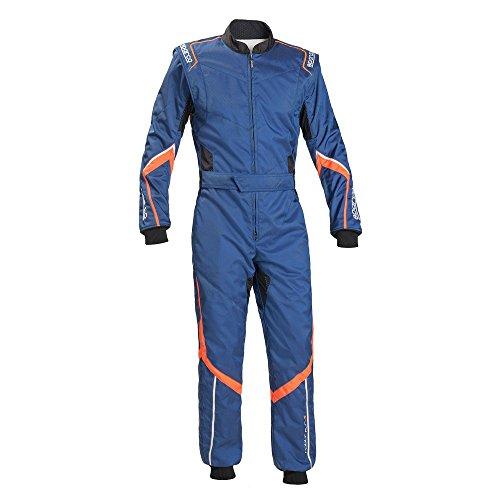 Sparco Robur KS-5 Kart Racing Suit 002335 (Size: X-Large, - Suit Racing Blue