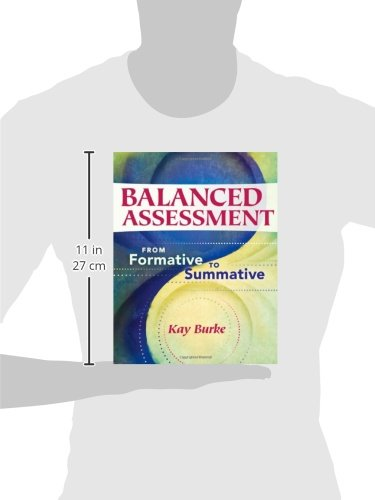 Balanced Assessment From Formative To Summative Kay Burke