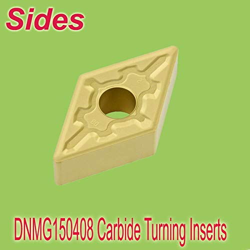 1 loting DNMG 150408 Carbide Inserts for Turning CVD Coated for General Machining Used On Lathe Holder MDJNR/MDPNN ()