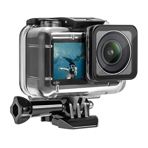 Waterproof Housing Case 200FT/61M Underwater Photography for DJI OSMO Action Camera, Including Diving Protective Housing Shell and 12pcs Anti Fog Inserts