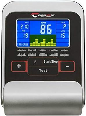 Christopeit Unisex - Ergómetro para Adultos RS 3, Negro, Aprox ...