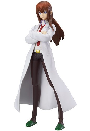 Good Smile Steins Gate: White Coat Version Kurisu Makise Figma Action Figure